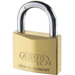 ABUS Hangschloss Messing 75/30 gl. 7341