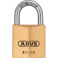 ABUS Hangschloss Messing 85/30 gl.-135