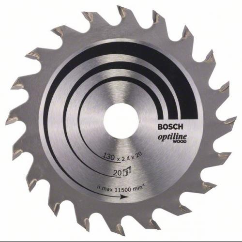 165 x 20//16 x 1,7 mm 12 Bosch 2608642600 Kreissägeblatt Speedline Wood